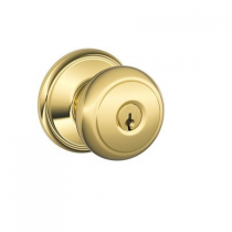 Schlage F51A-AND Andover Keyed Entry Set from the F-Series