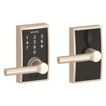 Schlage FE695-CEN-BRW Century Touch™ Entry Lever Set with Broadway Lever