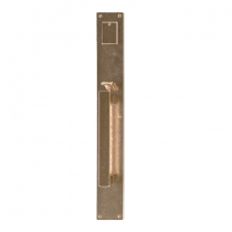 "Rocky Mountain G242, G240 Metro Entry Set 2-3/4"" x 20"" with Choice of Interior Escutcheon"