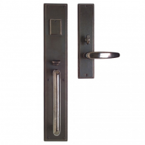 "Rocky Mountain G320,G324 Stepped Entry Set 3-1/2"" x 20"" with Choice of Interior Escutcheon"