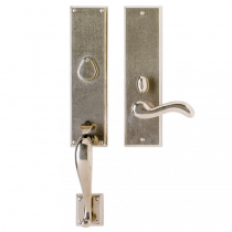 Rocky Mountain G542 Rectangular Entry Set with Choice of Interior Escutcheon