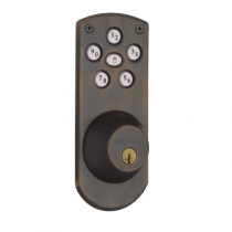 Weiser GED1460X-S Powerbolt Touchpad Electronic Deadbolt with SmartKey