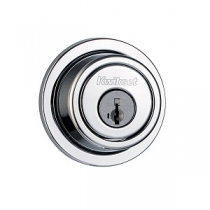 Kwikset Signature Series 993-RDT-SMT SmartKey Contemporary Round Single Cylinder Deadbolt
