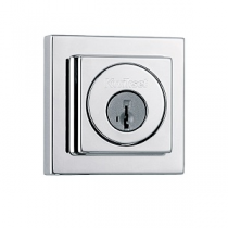 Kwikset Signature Series 993-SQT-SMT SmartKey Contemporary Square Single Cylinder Deadbolt