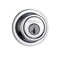 Kwikset Signature Series 994-RDT-SMT SmartKey Contemporary Round Double Cylinder Deadbolt