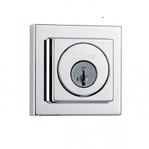 Kwikset Signature Series 994-SQT-SMT SmartKey Contemporary Square Double Cylinder Deadbolt