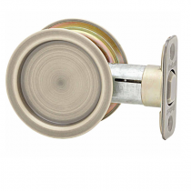 Kwikset Round Passage Pocket Door Lock