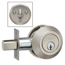 Omnia MODDB Modern Auxillary Deadbolt from the Prodigy Collection