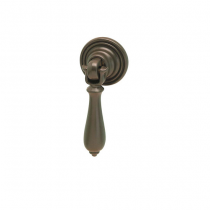 Hafele 120.17.370 Charleston Collection Dark Oil Rubbed Bronze Drop Handle Pull