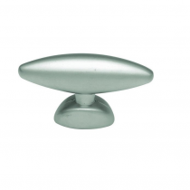 "Hickory Hardware PA0211 Metropolis - 1-1/2"" Cabinet Knob in Satin Nickel"
