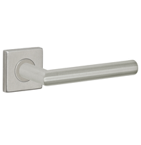 Fusion Stainless Steel Euro-Trim Collection 2060 Lever with Square Rose