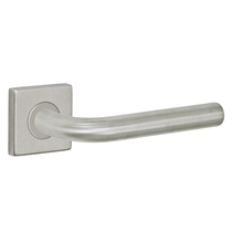 Fusion Stainless Steel Euro-Trim Collection 2080 Lever with Square Rose