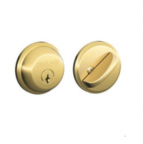 Schlage B60 Single Cylinder Grade 1 Deadbolt