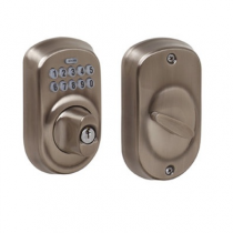 Schlage BE365-PLY Plymouth Electronic Keypad Deadbolt