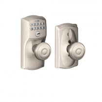 Schlage Flex Lock Camelot Keypad with Georgian Knob