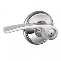 Schlage F40-MER F-Series Merano Privacy Door Lever Set