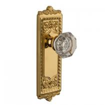 Grandeur Windsor Backplate with Choice of Knob or Lever