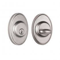 Weslock Elegance Collection 2771 Oval Single Cylinder Deadbolt