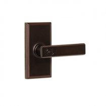 Weslock Elegance Collection Utica Keyed Entry Lever Set
