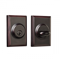 Weslock Elegance Collection 3771 Woodward Single Cylinder Deadbolt