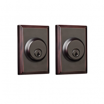 Weslock Elegance Collection 3772 Woodward Double Cylinder Deadbolt