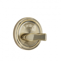 Weslock Traditionale Collection 668 One Sided Deadbolt with Outside Plate