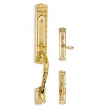 Omnia Bridgehampton Mortise Entrance Handleset