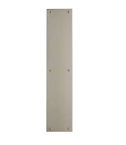 Baldwin Square Edge Push Plate