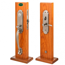 Emtek Charleston Mortise Handleset