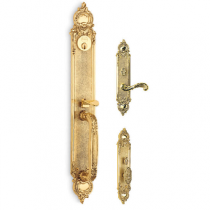 Omnia Chateau Mortise Entrance Handleset