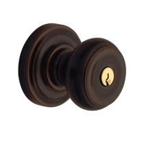 Baldwin Estate Colonial Keyed Entry Knob Set (5210.ENTR/FD)