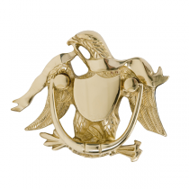 Brass Accents A04-K2000 Eagle Knocker