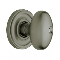 Baldwin Estate Egg Keyed Entry Knob Set (5225.ENTR/FD)