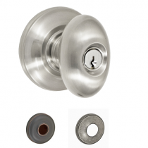 Fusion Elite Collection Egg Keyed Entry Knob