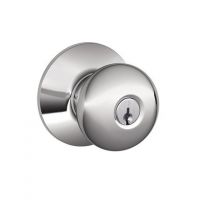 Schlage F80-PLY Plymouth Storeroom Door Knob Set