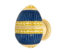 Emenee FAB1000-MG Faberge Easter Egg Cabinet Knob in Museum Gold