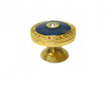 Emenee FAB1005-MG Faberge Round Parasol Cabinet Knob in Museum Gold
