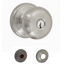 Fusion Elite Collection Half-Round Keyed Entry Knob
