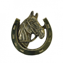 "Brass Accents A07-K5030 Horse Knocker (5"")"
