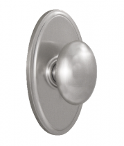 Weslock Elegance Collection Julienne Passage Door Knob Set with choice of decorative rose