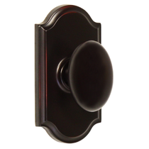Weslock Elegance Collection Julienne Privacy Door Knob Set with choice of decorative rose