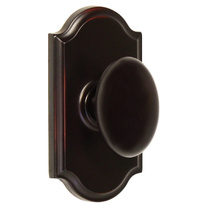 Weslock Elegance Collection Julienne Dummy Door Knob with choice of decorative rose