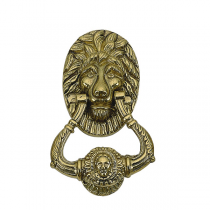 Brass Accents A07-K5010,A07-K5000 Lion Knocker