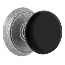 Emtek Black Madison Door Knob Set