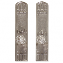 Brass Accents D04-K584 Renaissance Collection Oxford Mortise Entrance Set
