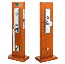 Emtek Manhattan Mortise Handleset