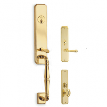 Omnia Manor Mortise Entrance Handleset