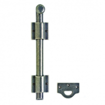 "Rocky Mountain (MB2) 1"" Dia. Surface Bolt with Square Mounting Brackets"