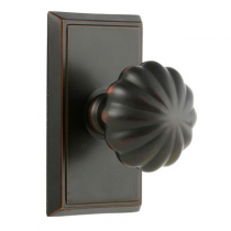 Emtek Melon Door Knob Set