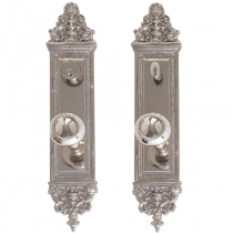 "Brass Accents D04-K523 Renaissance Collection Apollo Deadbolt Plate (3-5/8"" x 18"")"
